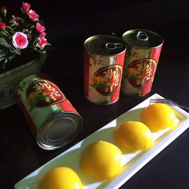 桃吉祥黄桃罐头 12罐一箱  新鲜又营养 美味又健康