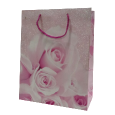 湖南百捷利包装印刷定做定制批发粉色礼袋纸袋包装袋高档时尚创意
