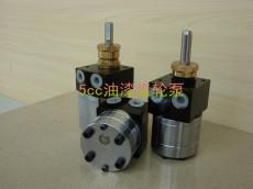 盈晖耐磨5cc圆型静电喷漆齿轮泵 5cc圆型静电输漆泵