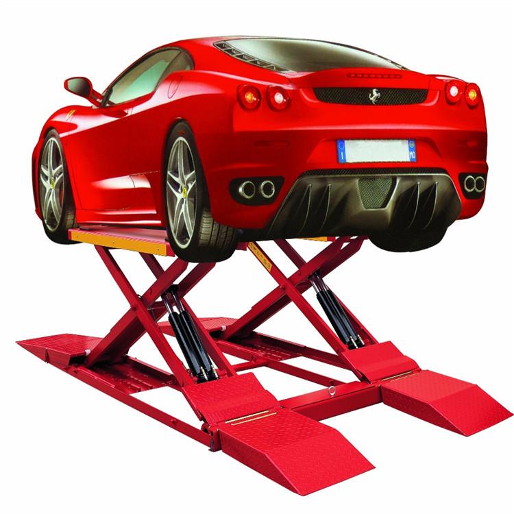 汽车举升机 剪叉 两柱 四柱式升降机 升降平台 液压升降机械图片