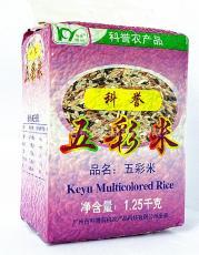 五彩米--多种营养组合,华南农业大学科研成果结晶