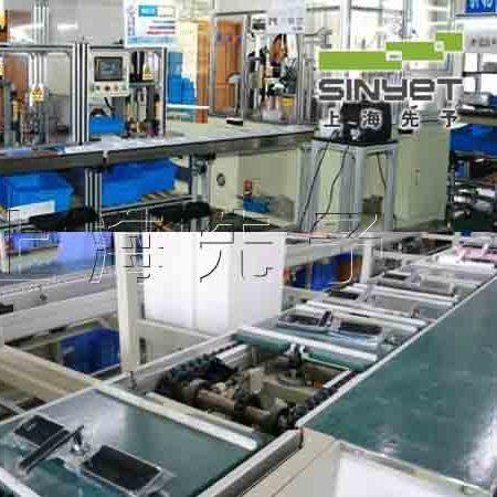 防盗门锁生产线(高清图片) 上海先予工业自动化设备有限公司