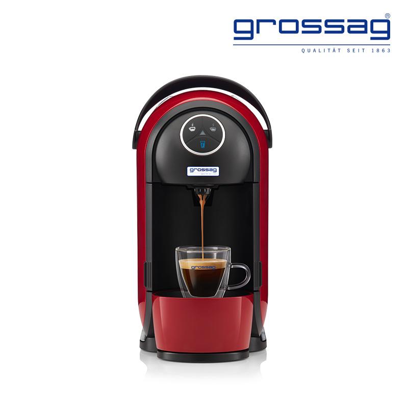 grossag格罗赛格 胶囊咖啡机S21 全自动家用商用 意式咖啡制作