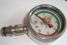 让利促销矿用双针耐震压力表BZY-60 KJ10/DN10