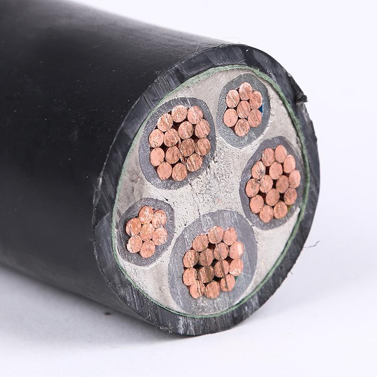 专业定做5芯铜芯电力电缆 yjv 3x70 2绝缘低压电力.图片