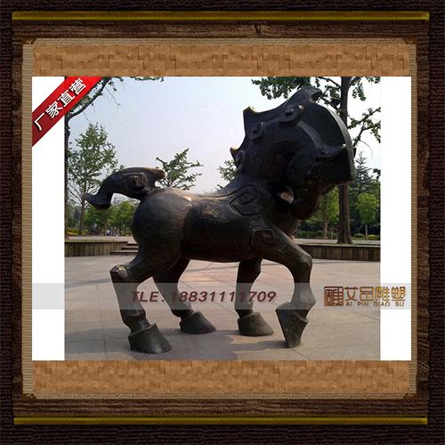 供应  十二生肖马铜雕塑     厂家直销