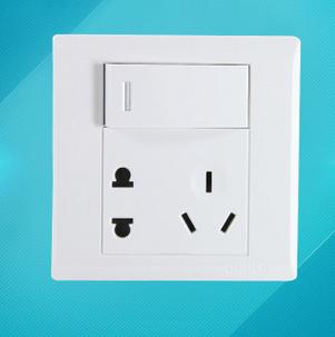 供应 欧普照明专柜正品插座面板 开关插座