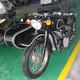 长江750边三轮摩托车仿古黑白款