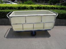 厂家直销:纺织厂用玻璃纤维运输推布车 印染厂用方形装布车 耐老化方形装布车