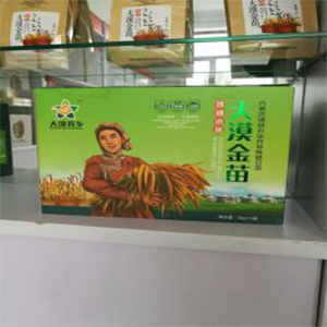 大漠金苗小米礼盒5kg