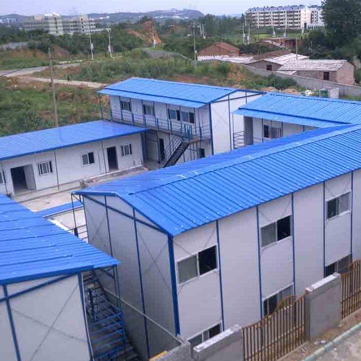 山西晋城祈虹彩钢厂家直销低价环保新型qhcg-003工地保暖彩钢活动房
