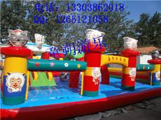 充气蹦床图片 充气蹦床玩具