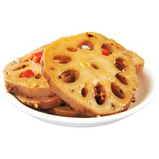 小胡鸭 香辣藕片 番茄味藕丁 醋溜味藕丁150g*3袋 零食小吃 卤味