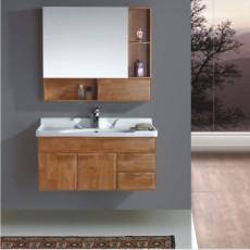 供应 品典卫浴柜 实木橡木浴室柜组合 浴柜