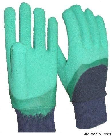 集芳牌浸胶手套结实耐用抗割防滑防水热销3L2-1型专利号ZL200820026742.1专利