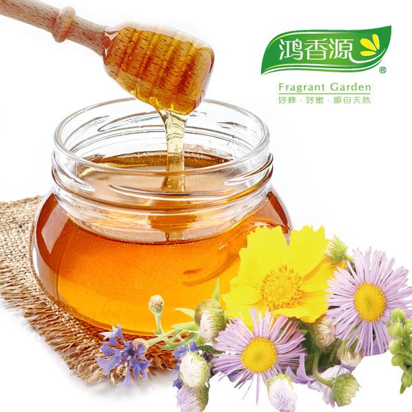 鸿香源百花蜂蜜原料