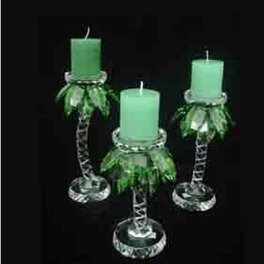 浦江祥之福水晶玻璃有限公司  水晶烛台