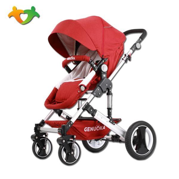 格诺卡高景观四轮二合一婴儿推车多配色