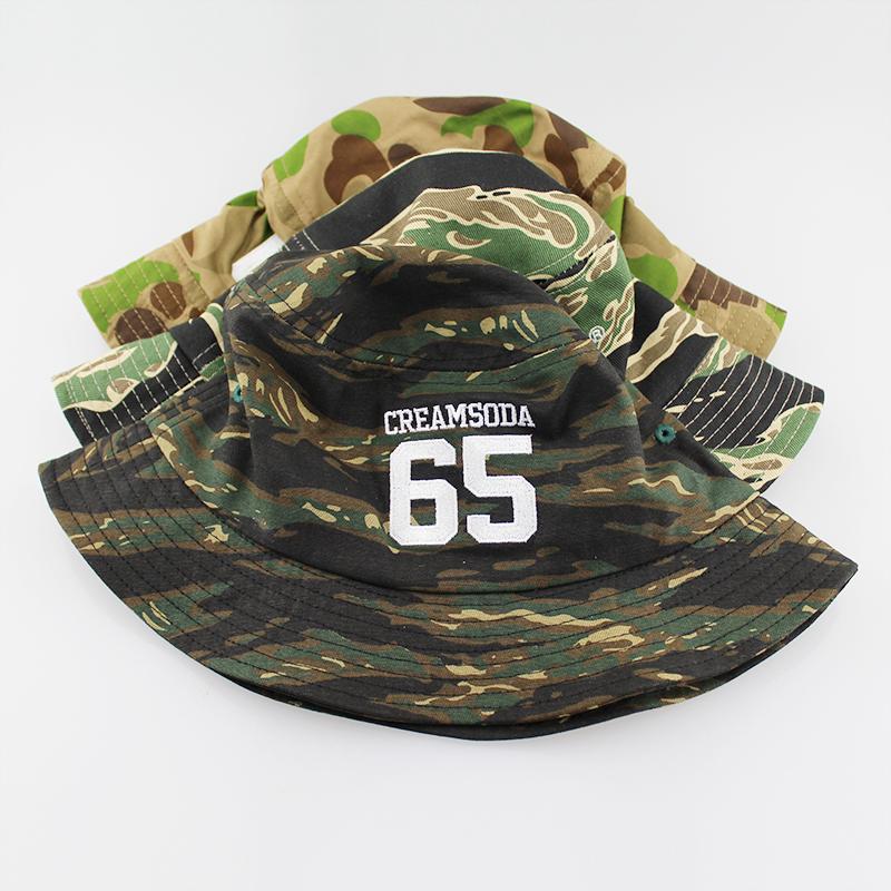 来图来样定做渔夫帽 男女士户外遮阳边帽 定制迷彩全棉盆帽