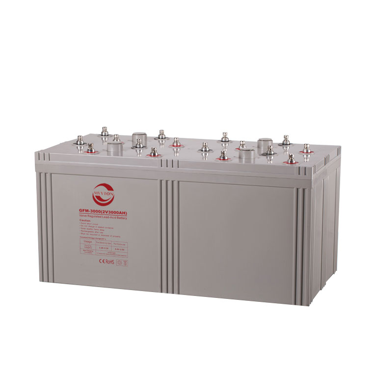 GFM-3000大容量铅酸蓄电池 2V3000AH免维护太阳能储能蓄电池