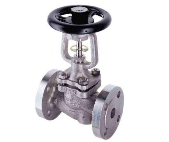 手动,气动,电动; 进口不锈钢波纹管截止阀设计标准: 制造标准:,德标图片