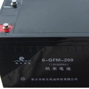 新太电池12V200Ah6-GFM-200固定型阀控式密封铅酸蓄电池