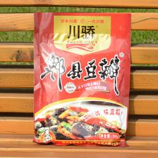 川骄 郫县老豆瓣酱川菜神器酱香蚕豆酱饭店炒菜调料酱258g3件包邮