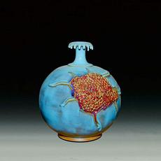 供应 钧瓷石榴瓶
