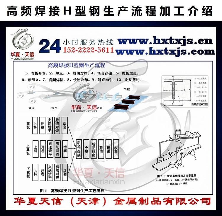 华夏天信高频焊接H型钢销售高频焊接h型钢厂家-华夏天信