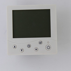 直销 水暖地暖智能温控 液晶温控面板 智能可编程温控器6键