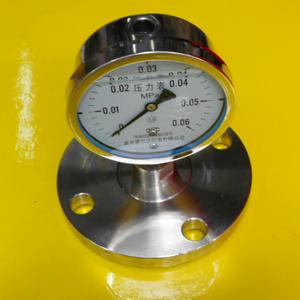 YQFN-100MFB全不锈钢隔膜耐震压力表