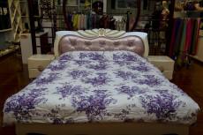 紫色美丹梦蚕丝被