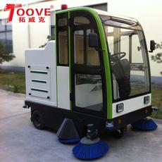 驾驶式扫地机拓威克全自动扫地车封闭式清扫车