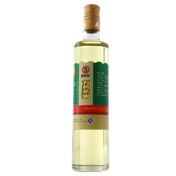 老知青有机山茶食用油480ML 野山茶籽油精心甄选山茶果一级压榨