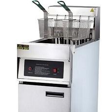 全电气厨房 晋豪落地式电炸炉JZL-JX18 高功率 不冲温 回温迅速