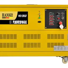 翰丝12KW多燃料液化气发电机