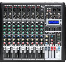 AOSTON10路专业调音台舞台演出带USB 16种DSP数字混响效果器
