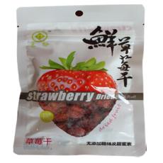 东盼100g草莓干 100g*60包/箱