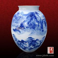 景德镇陶瓷花瓶 陶瓷装饰花瓶 陶瓷花瓶批发