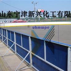 广东超高分子量聚乙体育用品冰球场围栏 仿真冰板