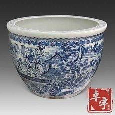 独立式浴盆陶瓷 陶瓷泡澡缸大缸 圆形陶瓷浴缸厂家