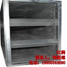 山东江润厂家供应消声静压箱 空调消声器 质优价廉
