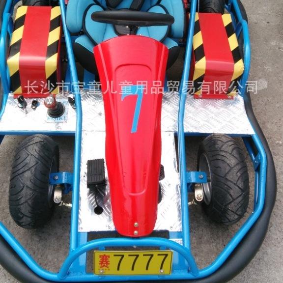 儿童电动卡丁车游乐场专用单座卡丁车赛车定做用卡丁车
