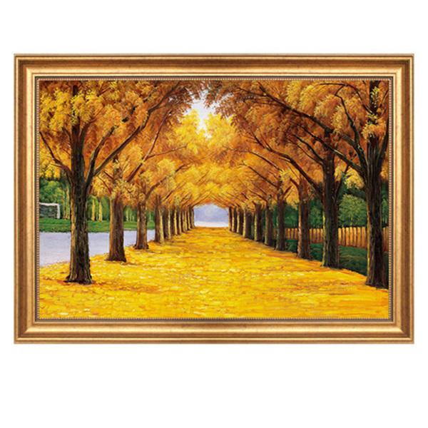 欧式客厅装饰画 餐厅挂画 山水风景画油画价格–中国