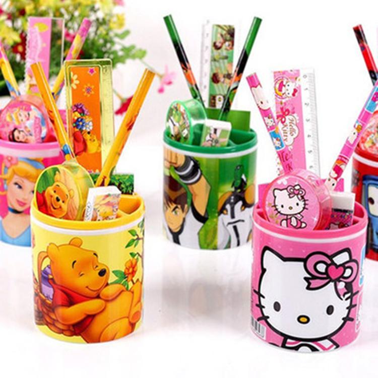 幼儿园创意奖品小学生文具套装笔筒儿童生日礼物开学学习用品批发图片