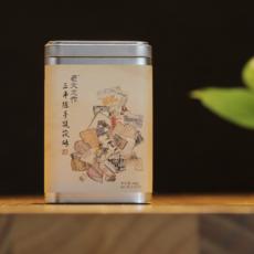 老文志作湖南安化黑茶 三年陈手筑茯砖茶 金花茯茶 三角袋泡茶包