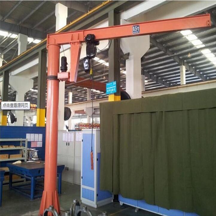 特价悬臂起重机 安全可靠起重设备 悬臂遥控箱型欧式起重机
