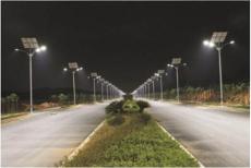 中国湖北武汉关三桥太阳能路灯隧道灯工程