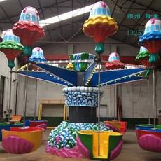 逍遥水母中小型游乐设备 厂家直销 郑州隆生摇头飞椅