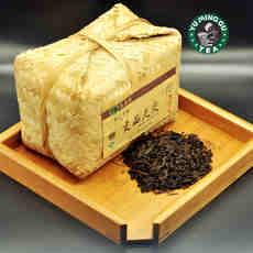 昱茗谷 安化竹篓贡品天尖700g黑茶特级包邮 可收藏的养身健康茶叶